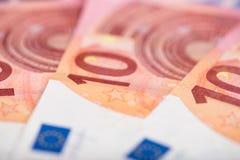 евро 10 кредиток Стоковая Фотография