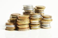 евро монетки цента Стоковые Фотографии RF