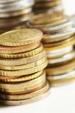 евро монетки цента Стоковая Фотография RF