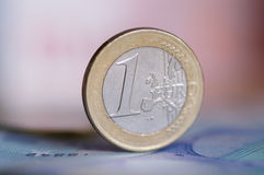 евро монетки Стоковая Фотография RF