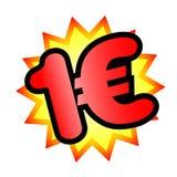 евро одно бесплатная иллюстрация