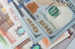 евро доллара мы Стоковое Изображение RF