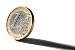 евро одно Стоковое Изображение RF
