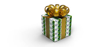 Евро подарка денег бесплатная иллюстрация