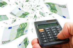 Евро подъема. Стоковая Фотография RF