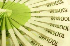 евро предпосылки Стоковая Фотография RF