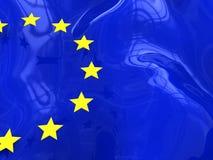 евро предпосылки Стоковое Изображение