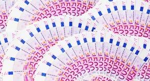 евро 500 предпосылок Стоковое фото RF