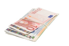 евро пука счетов Стоковые Изображения