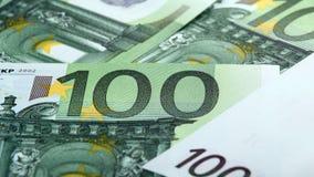 евро сотые одно кредиток Стоковое Изображение