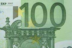 евро 100 счета Стоковые Изображения