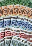 евро счетов банка Стоковые Изображения RF