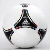 Евро 2012 - футбольный мяч Стоковые Изображения RF