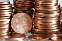 евро цента Стоковое Изображение