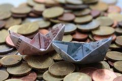 евро шлюпок Стоковое фото RF