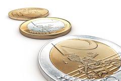 евро элементов конструкции принципиальных схем монеток предпосылки близкое изображает диаграммой потерю роста изолированную доход иллюстрация вектора