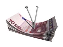 евро 10 Стоковые Фотографии RF