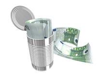 евро 100 одних Стоковые Фото