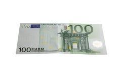 евро 100 Стоковая Фотография