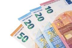 100 евро стоковая фотография