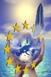 евро 2 иллюстрация вектора