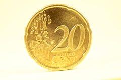 евро 20 центов Стоковые Фото
