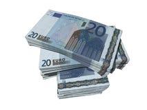 евро 20 Стоковая Фотография RF