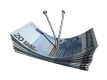евро 20 Стоковое Изображение