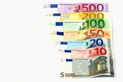евро Стоковые Изображения RF