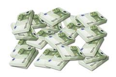 Евро Стоковые Фотографии RF