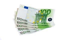 100 евро Стоковое Изображение