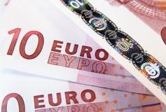 евро 10 Стоковые Изображения RF