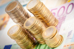 Евро Стоковая Фотография