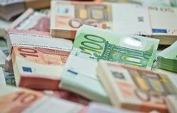 Евро Стоковая Фотография RF