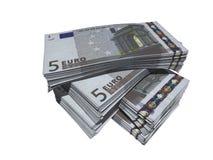 евро 5 Стоковая Фотография