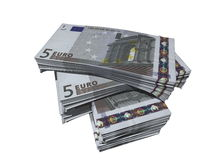 евро 5 Стоковое фото RF