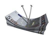 евро 5 Стоковая Фотография RF