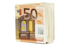 евро 50 кредиток Стоковое фото RF
