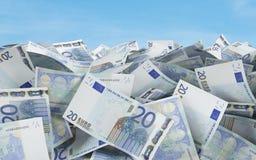 евро 20 Стоковое фото RF
