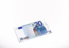 20 евро стоковое фото