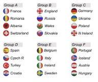 Евро 2016 бесплатная иллюстрация