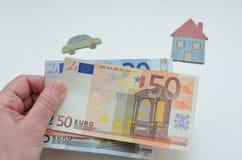 Евро Стоковое Фото