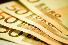 евро 50 Стоковые Фото