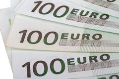 100 евро Banknots Стоковые Изображения
