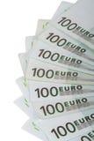 100 евро Banknots Стоковые Фотографии RF