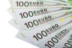 100 евро Banknots Стоковая Фотография