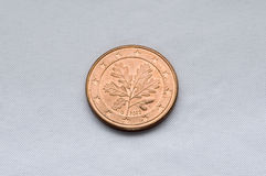 евро coin1 Стоковое Фото