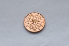 евро coin3 Стоковое Фото