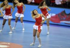 ЕВРО EHF Польша 2016 Хорватия Стоковые Фотографии RF