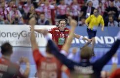 ЕВРО EHF Франция 2016 Норвегия Стоковые Фото
